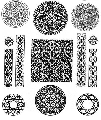 Арабы - арабские узоры и орнаменты. . Живопись. . Галереи картин и графики